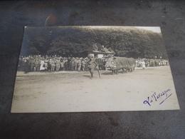 EPINAL CARTE PHOTO CARNAVAL  ENORME SANGLIER TARASQUE FETES 1919 - Epinal