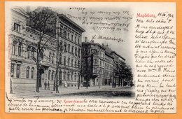 Magdeburg Germany 1902 Postcard - Magdeburg