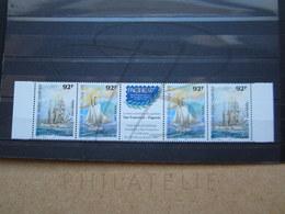 VEND BEAUX TIMBRES DE POLYNESIE N° 531 + 532 X 2 + VIGNETTE , XX !!! - Polynésie Française