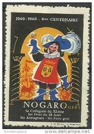 France Vignette - 1960 Nogaro (Gers) 9th Centennial MH - Commemorative Labels