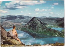 Jotunheimen - Utsikt Fra Besseggen Over Gjende - Lake Gjende, Mount Besseggen - Norge - Norway - Noorwegen