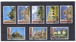 MEX1189  UNO GENF 2006  MICHL  543/44 + 545/50  WELTERBE FRANKREICH Aus MH Und BOGEN  Used / Gestempelt - Gebraucht