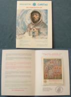 Vaticano 1997 BF Pro Terremotati Con Folder (Sass.BF25) **/MNH - Blocchi E Foglietti