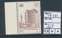 BELGIUM  COB TR341  MNH POSTFRIS SANS CHARNIERE - 1952-....