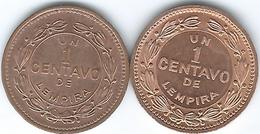 Honduras - 1 Centavo - 1988 (KM77b) 1992 (KM77a) - Honduras
