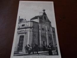 B713   Talsano Taranto Chiesa Cm14x9 Pieghina Angolo - Italia