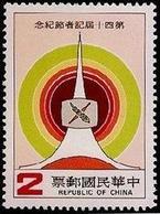 1983 40th Journalism Day Stamp Media Press TV Broadcasting Telecom - History