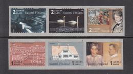 FINLAND POSTZEGELSERIE ROLZEGELS THEMA MUZIEK VAN JEAN SIBELIUS UITGAVE 2014POSTFRIS - Unused Stamps