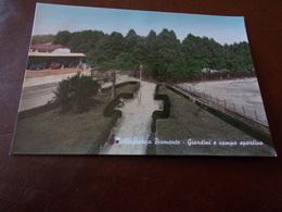 B713   Villafranca Pemonte Cuneo Campo Sportivo Viaggiata - Italia