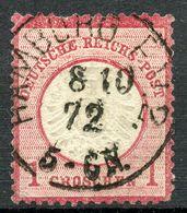 """""""HAMBURG P E 2"""" Zentrischer Vollstempel Nr. 19 - Gebraucht"""
