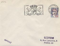 FRANCIA - 1966 - SAINT CLOUD  BLASONE   -  HIPPODROME - PARC NATIONAL - Buste