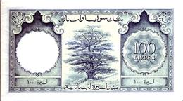 LEBANON P. 60a 100 L 1963 VF - Liban