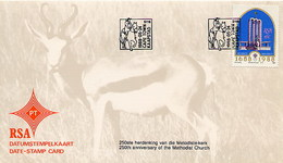 RSA - SUD AFRICA - 1988 - 250th Anniversary  METHODIST CHURCH - FDC