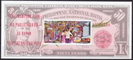 Philippinen, 1966, 810 Block 8, 50 Jahre Philippinische Nationalbank. MNH ** - Philippinen