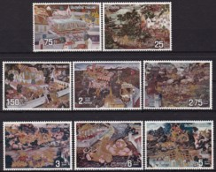 Thailand, 1973, 677/84, Gemälde.  MNH ** - Tailandia