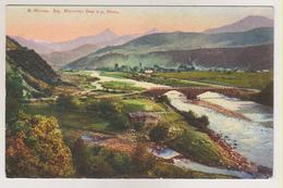 Caucase.Osetia.Oni Village,bridge On Rion River.. - Russie
