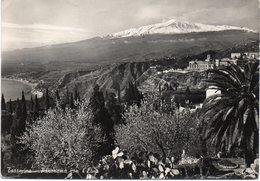 Messina - Taormina - Panorama Con L'Etna - Vg - Messina