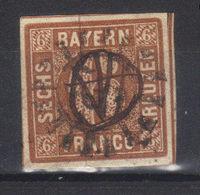 Allemagne Bavière N° 5  (1849) - Bavière
