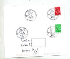 Lettre Cachet Nantes Marianne Des Français - Marcophilie (Lettres)