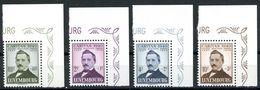 Nr. 464 - 467 Postfrische Eckrand Viererblöcke - Michel 120 € - Luxemburg
