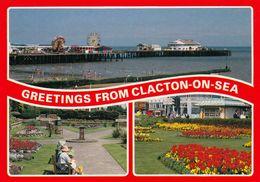 1 AK England * Ansichten Von Clacton-on-Sea - Grafschaft Essex * - Clacton On Sea