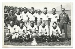 FOOTBALL - EQUIPE LILLE LOSC - JOUEURS LIGUE 1 - ANNEE 1947-1948 - PHOTO NOIR ET BLANC TBE - Sports