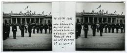 Positif Stéréo . Montpellier 10 Juin 1905 . Décoration Du Chirurgien Emile Forgue Par Joffre . Dujardin-Beaumetz . - Photos Stéréoscopiques