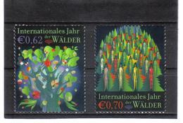 GEO618 UNO WIEN 2011  MICHL  736/37 JAHR Der WÄLDER ** Postfrisch - Ungebraucht
