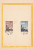 Vaticano Souvenir Stamps   Cupoloni Del 10/08/1953 Posta Aerea - FDC