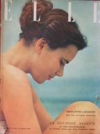 Revue Mode - Elle N°294 (16 Juil 1951) Le Bleu Biarritz - Coton Et Boutons - Mode