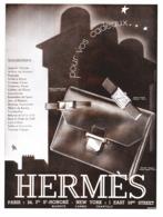 """PUB SELLERIE  """" HERMES """"   1931  ( 2 ) - Autres Collections"""