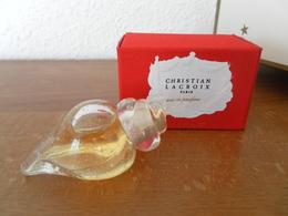 ACHAT IMMEDIAT;;;;MINIATURE CHRISTIAN LACROIX 5 ML EAU DE PARFUM - Miniatures Modernes (à Partir De 1961)