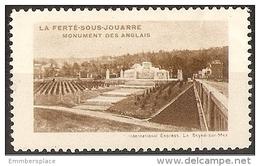 France Tourism Label - La Ferte-sous-Jouarre (monument Des Anglais) - Commemorative Labels