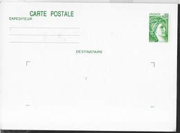FRANCE - CARTE POSTALE SABINE CENT. 80 (YVERT 1970-CP) - 1978 - NUOVA - Biglietto Postale