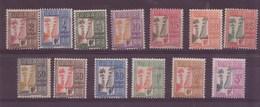 Guadeloupe N° 25/37** TAXE - Guadeloupe (1884-1947)