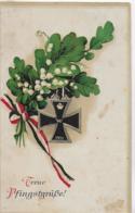 AK 0163  Treue Pfingstgrüße - Patriotika Um 1914 - Pentecôte