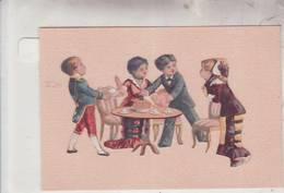 DECOUPIS /ENFANT A TABLE / AU RESTAURANT / - Enfants
