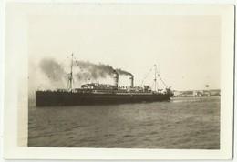 Photo Originale POLOGNE Paquebot Polonais BATORY Campagne Baltique 1936 - Barche