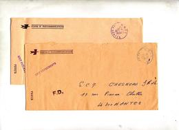 Lettre Franchise Cachet Nantes C R I T - Marcophilie (Lettres)