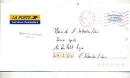 Lettre Franchise Flamme Muette CRSF Paris Bretagne - Marcophilie (Lettres)