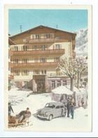 CORTINA D'AMPEZZO HOTEL ANCORA CARTE DE CHAMBRE - Italien