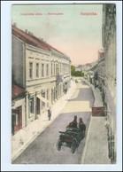 U5065/ Banjaluka  Herrengasse Bosnien AK 1909 - Bosnie-Herzegovine