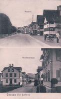 Gossau SG, Neudorf Und Hirschenstrasse (2.10.1907) - SG St. Gall