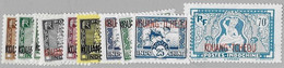 Kouang-Tchéou  N, 125/134** . Sans Les Ns 126A-130-131 - Unused Stamps