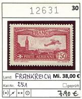Frankreich - France - Francia -  Michel 251 - * Mh Neuf - France