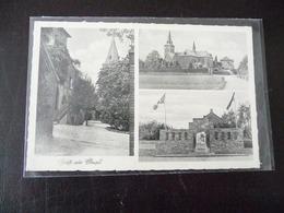 Gruß Aus Elmpt Ca. 1934 Mit Beflaggung Niederkrüchten Viersen - Viersen