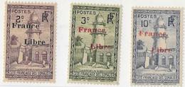 Côte Des Somalis N204-205-208** - Côte Française Des Somalis (1894-1967)