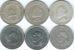 Honduras - 20 Centavos - 1958 (KM73) 1967 (KM79) 1973 (KM81) 1978 (KM83.1) 1994 (KM83a.1) 2010 (KM83a.2) - Honduras