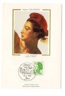 Carte Maximum 1987 - La Liberté De Delacroix YT 2484 - Oblitération Musée De La Poste 1987 - Cartes-Maximum