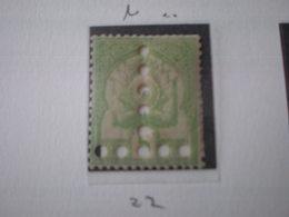 TIMBRE DE TUNISIE TAXE N° 22/24 MNH  PERFORES EN T - Tunisia (1888-1955)